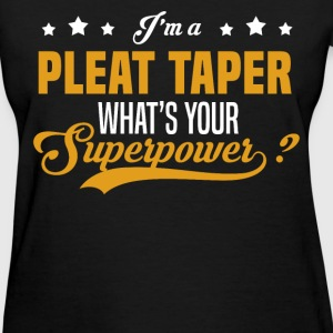 Pleat Taper T-Shirts - Women's T-Shirt