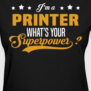 Printer T-Shirts - Women's T-Shirt
