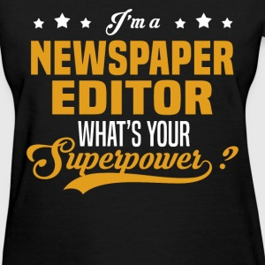 Newspaper Editor - Women's T-Shirt