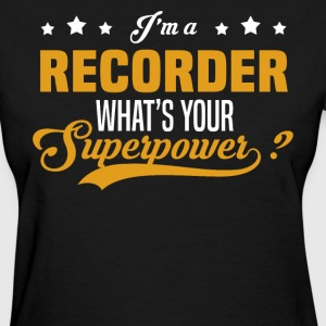 Recorder - Women's T-Shirt