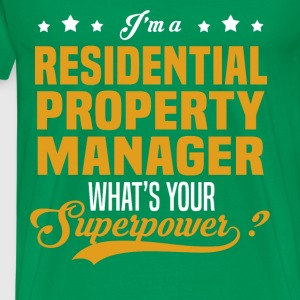 Residential Property Manager - Men's Premium T-Shirt