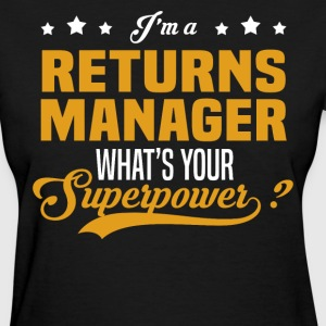 Returns Manager - Women's T-Shirt