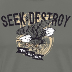Seek and Destroy - Men's Premium T-Shirt