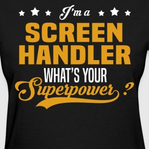 Screen Handler - Women's T-Shirt