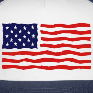 Stars And Stripes / USA / Flag Sportswear - Trucker Cap