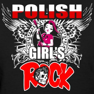 Polish Girls Rock - Women's T-Shirt