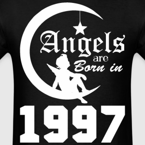 Angels are Born in 1997 - Men's T-Shirt
