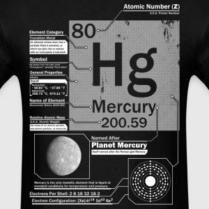 Mercury Hg 80 Element t shirt - Men's T-Shirt