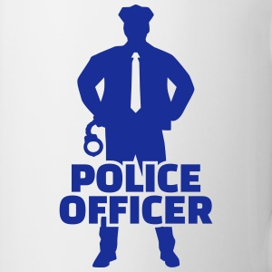 Police officer Mugs & Drinkware - Coffee/Tea Mug