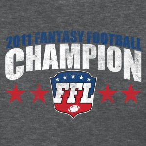 FANTASY FOOTBALL CHAMPION 2011 Women's T-Shirts - Women's T-Shirt