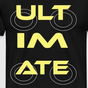 Ultimate Frisbee T-Shirt: ULTIMATE - Men's Premium T-Shirt