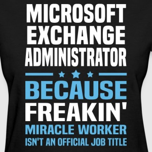 Microsoft Exchange Administrator - Women's T-Shirt