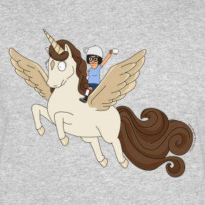 Bob's Burgers Tina On Pegacorn - Men's 50/50 T-Shirt