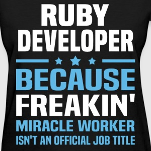 Ruby Developer - Women's T-Shirt