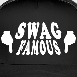 Swag Famous Ball Cap hands - Trucker Cap