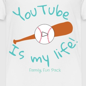 Family Fun Pack (boys shirt) Baseball - Kids' Premium T-Shirt