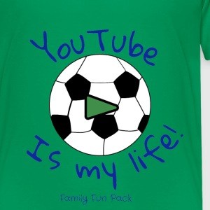 Family Fun Pack (boys shirt) soccer - Kids' Premium T-Shirt