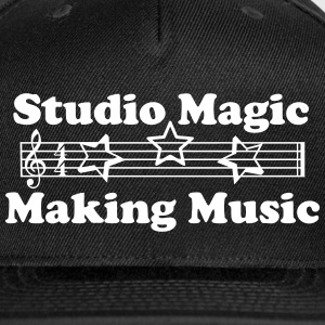 Studio Magic Making Music stars ball cap2 - Snap-back Baseball Cap