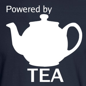 Powered By Tea - Men's Long Sleeve T-Shirt