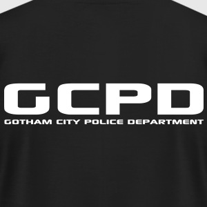 Gotham City Police Department - Men's T-Shirt by American Apparel