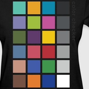 Photographer's Color Checker tee - Women's T-Shirt