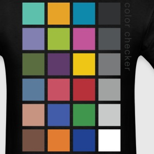 Photographer's Color Checker tee - Men's T-Shirt