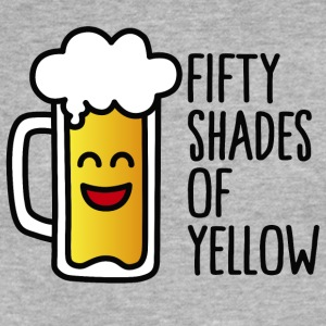 Fifty shades of yellow T-Shirts - Fitted Cotton/Poly T-Shirt by Next Level