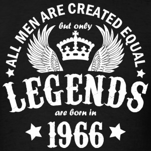 Legends are Born in 1966 - Men's T-Shirt