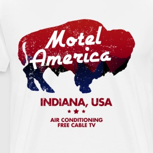 Motel America - Men's Premium T-Shirt