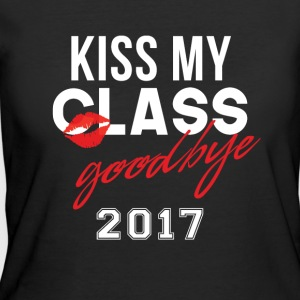 Funny Graduation Shirt Kiss My Class Goodbye 2017 - Women's 50/50 T-Shirt