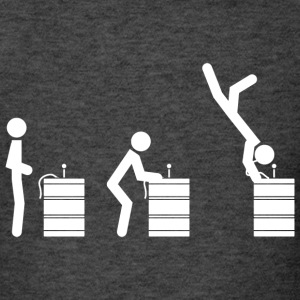 Keg-Stand Instructions - Men's T-Shirt