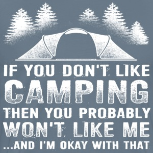 Gaming shirt- If You Don't Like Camping  - Men's Premium T-Shirt