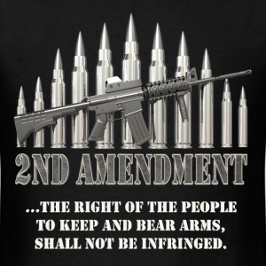 2nd Amendment Men's T-shirt - Men's T-Shirt
