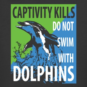Stop the Dolphin Abuse - Men's 50/50 T-Shirt
