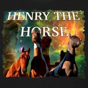 Henry the Horse - 3 Horse Night T-Shirt T-Shirts - Women's T-Shirt