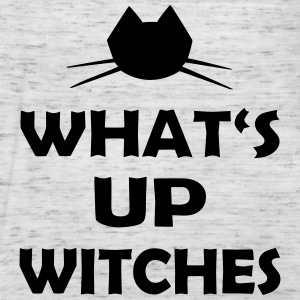 Halloween What's Up Witches Statement - Women's Flowy Tank Top by Bella
