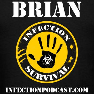 Infection Podcast - Men's T-Shirt