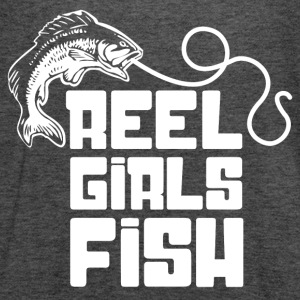 Reel Girls Fish Fisherwoman Angling - Women's Flowy Tank Top by Bella