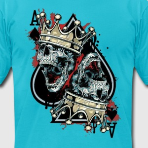 king of spades T-Shirts - Men's T-Shirt by American Apparel