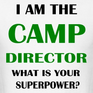 Camp director - Men's T-Shirt