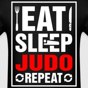 Eat Sleep Judo Repeat - Men's T-Shirt