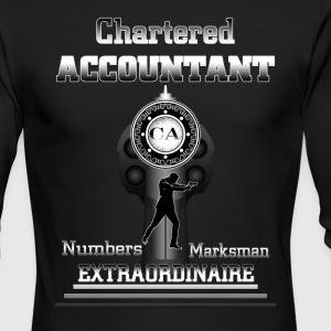 Chartered Accountant Extraordinaire Mens Long Slee - Men's Long Sleeve T-Shirt by Next Level