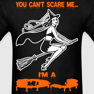 You Cant Scare Me Im A DJ - Men's T-Shirt