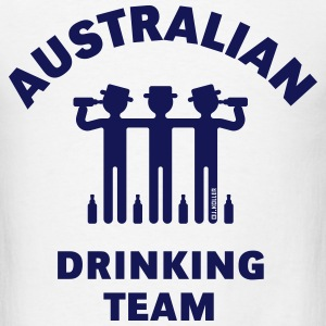 Australian Drinking Team (Booze / Beer / Alcohol) T-Shirts - Men's T-Shirt