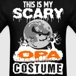 This is my Scary Opa Costume - Men's T-Shirt
