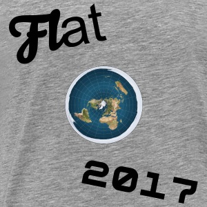 Flat Earth Exclusive T-Shirt - Men's Premium T-Shirt