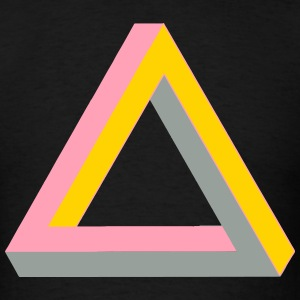IMPOSSIBLE PYRAMID 1 - Men's T-Shirt