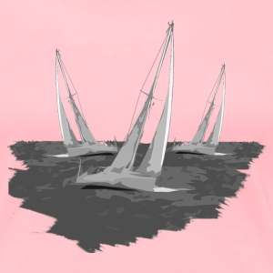 Sailing Race - Women's Premium T-Shirt