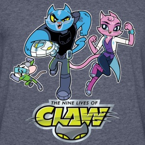 MEN'S OFFICIAL CLAW, EDISON AND PURRNELOPE 50/50 T - Men's 50/50 T-Shirt