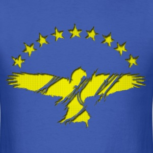 Gold Azorean Goshawk - Men's T-Shirt